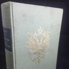Libri di seconda mano: DICTIONNAIRE DE LA NOBLESSE RUSSE - PATRICK DE GMELINE. 1978. EDITIONS CONTREPOINT. FRANCÉS. Lote 235037570