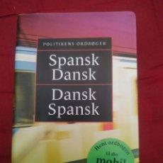 Diccionarios de segunda mano: DICCIONARIO SPANSK - DANSK / DANSK - SPANSK. Lote 235110110