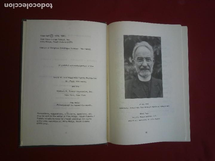 Diccionarios de segunda mano: DICCIONARIO LAKOTA SIOUX-INGLES - INDIOS AMERICANOS - BUECHEL - MUY RARO. - Foto 3 - 235246455