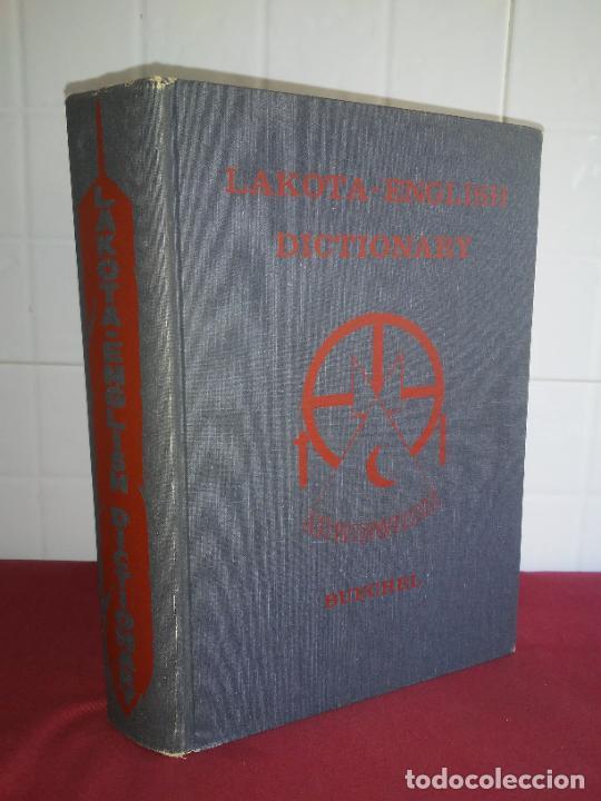 DICCIONARIO LAKOTA SIOUX-INGLES - INDIOS AMERICANOS - BUECHEL - MUY RARO. (Libros de Segunda Mano - Diccionarios)
