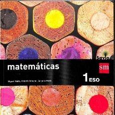 Diccionarios de segunda mano: MATEMÁTICAS. 1 ESO. SAVIA. Lote 235358215