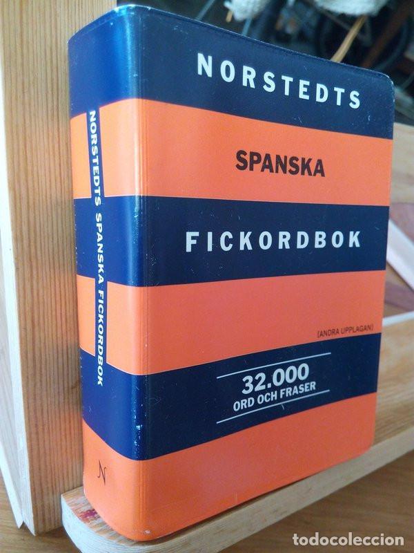 NORSTEDTS SPANSKA FICKORDBOK (SPANSK- SVENSK, SVENSK- SPANSK) (Libros de Segunda Mano - Diccionarios)