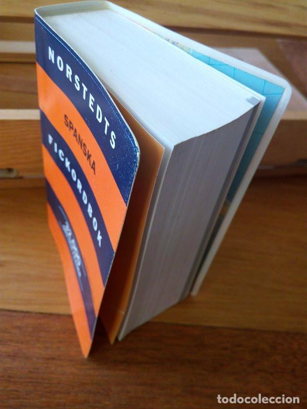 Diccionarios de segunda mano: NORSTEDTS SPANSKA FICKORDBOK (Spansk- svensk, Svensk- spansk) - Foto 2 - 235417285