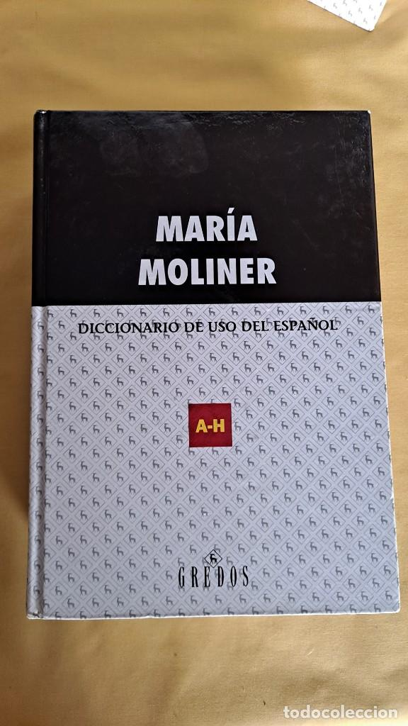 Diccionarios de segunda mano: MARIA MOLINER - DICCIONARIO DE USO DEL ESPAÑOL ( 2 TOMOS) - EDITORIAL GREDOS 2002 - Foto 2 - 236085210