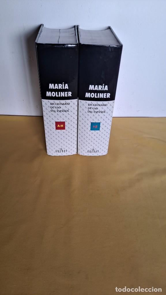 Diccionarios de segunda mano: MARIA MOLINER - DICCIONARIO DE USO DEL ESPAÑOL ( 2 TOMOS) - EDITORIAL GREDOS 2002 - Foto 6 - 236085210