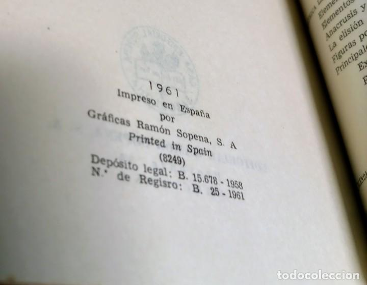 Diccionarios de segunda mano: DICCIONARIO LATINO ESPAÑOL - AGUSTIN BLANQUEZ - SOPENA - Foto 4 - 236724875
