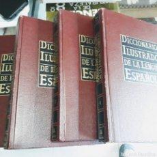 Diccionarios de segunda mano: DICCIONARIO ILUSTRADO DE LA LENGUA ESPAÑOLA EDITORIAL MARIN. Lote 236883170