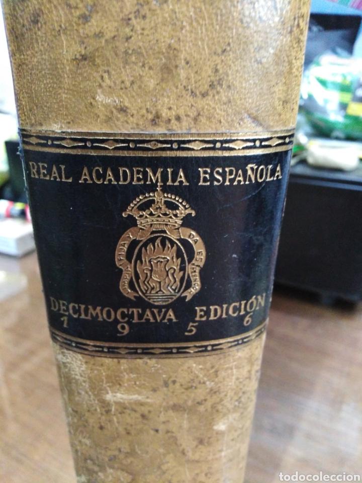 Diccionarios de segunda mano: DICCIONARIO DE LA LENGUA ESPAÑOLA-REAL ACADEMIA ESPAÑOLA-1956 MADRID,ESPASA CALPE-ECUADERNADO PLENA - Foto 4 - 237439690
