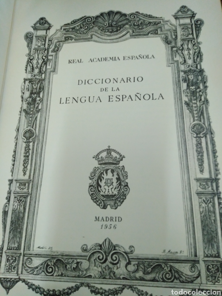 Diccionarios de segunda mano: DICCIONARIO DE LA LENGUA ESPAÑOLA-REAL ACADEMIA ESPAÑOLA-1956 MADRID,ESPASA CALPE-ECUADERNADO PLENA - Foto 5 - 237439690