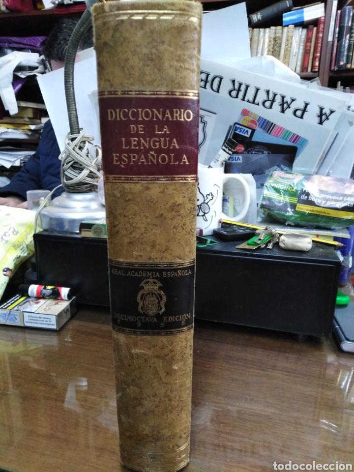 DICCIONARIO DE LA LENGUA ESPAÑOLA-REAL ACADEMIA ESPAÑOLA-1956 MADRID,ESPASA CALPE-ECUADERNADO PLENA (Libros de Segunda Mano - Diccionarios)