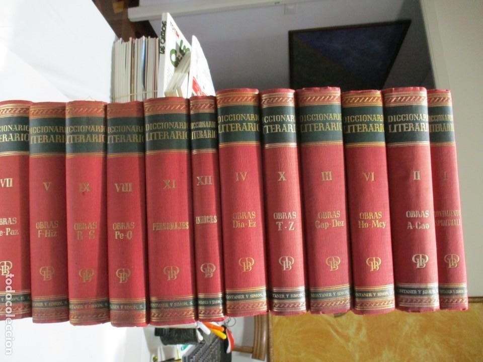 GONZÁÑEZ PORTO-BOMPIANI DICCIONARIO LITERARARIO ( 12 TOMOS ) W5321 (Libros de Segunda Mano - Diccionarios)
