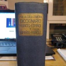 Diccionarios de segunda mano: DICCIONARIO FRANCÉS-ESPAÑOL / ESPAÑOL FRANCÉS ALCALÁ ZAMORA Y THEOPHILE ANTIGNAC. 1958. RAMÓN SOPENA. Lote 237763690