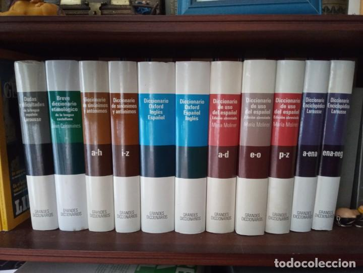 GRANDES DICCIONARIOS MARÍA MOLINER. LAROUSSE. OXFORD, GREDOS Y JOAN COROMINES (Libros de Segunda Mano - Diccionarios)