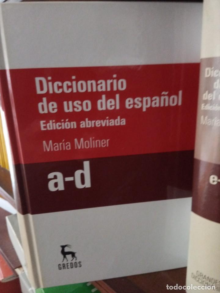 Diccionarios de segunda mano: GRANDES DICCIONARIOS MARÍA MOLINER. LAROUSSE. OXFORD, GREDOS Y JOAN COROMINES - Foto 2 - 239947200