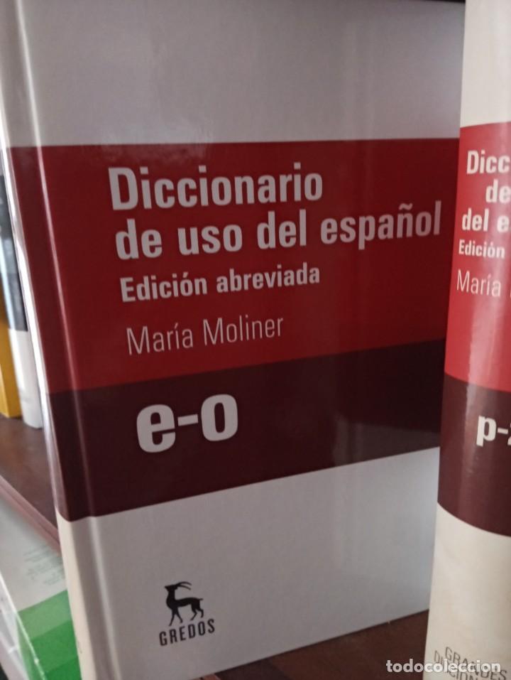 Diccionarios de segunda mano: GRANDES DICCIONARIOS MARÍA MOLINER. LAROUSSE. OXFORD, GREDOS Y JOAN COROMINES - Foto 3 - 239947200