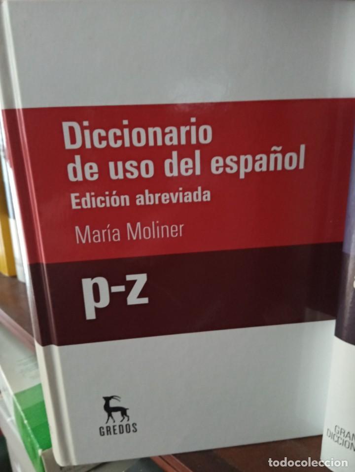 Diccionarios de segunda mano: GRANDES DICCIONARIOS MARÍA MOLINER. LAROUSSE. OXFORD, GREDOS Y JOAN COROMINES - Foto 4 - 239947200