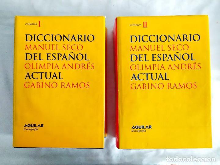 DICCIONARIO DEL ESPAÑOL ACTUAL - DOS TOMOS (Libros de Segunda Mano - Diccionarios)