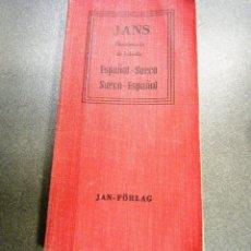 Diccionarios de segunda mano: DICCIONARIO DE BOLSILLO ESPAÑOL-SUECO. Lote 240680955