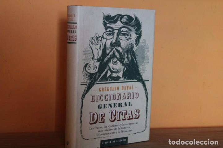 DICCIONARIO GENERAL DE CITAS / GREGORIO DOVAL (Libros de Segunda Mano - Diccionarios)