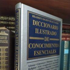 Diccionarios de segunda mano: DICCIONARIO ILUSTRADO DE CONOCIMIENTOS ESENCIALES ED READER'S DIGEST 608 PAG 1999. Lote 241316410