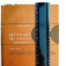 Diccionarios de segunda mano: 1975 - ALONSO: DICCIONARIO DEL ESPAÑOL MODERNO. Lote 241635660