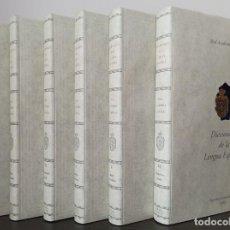 Diccionarios de segunda mano: DICCIONARIO DE LA LENGUA ESPAÑOLA. REAL ACADEMIA ESPAÑOLA 1ª EDICION AÑO 1992 ( 6 TOMOS). Lote 241638790