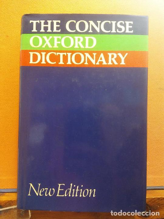 THE CONCISE OXFORD DICTIONARY OF CURRENT ENGLISH. NEW EDITION. OXFORD (Libros de Segunda Mano - Diccionarios)