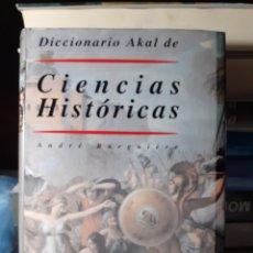 Livros em segunda mão: DICCIONARIO AKAL DE CIENCIAS HISTÓRICAS. Lote 242854255