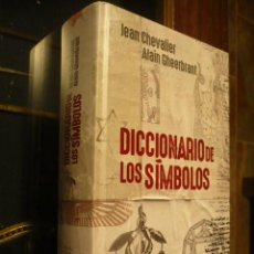 Libri di seconda mano: DICCIONARIO DE LOS SÍMBOLOS, JEAN CHEVALIER Y ALAIN GHEERBRANT, GRUESO VOLUMEN.. Lote 242969880