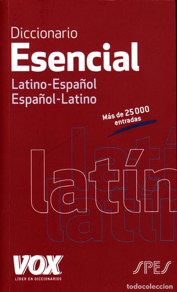 DICCIONARIO ESENCIAL VOX LATINO-ESPAÑOL/ESPAÑOL-LATINO (Libros de Segunda Mano - Diccionarios)
