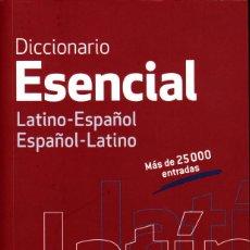 Diccionarios de segunda mano: DICCIONARIO ESENCIAL VOX LATINO-ESPAÑOL/ESPAÑOL-LATINO. Lote 243265565