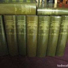 Libri di seconda mano: JOAN COROMINAS - DICCIONARI ETIMOLOGIC DE LA LLENGUA CATALANA 9 TOMOS (DE A A Z, FALTA TOMO INDEX). Lote 243606775