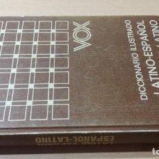 Diccionarios de segunda mano: DICCIONARIO LATINO ESPAÑOL ILUSTRADO / VOX / / M301. Lote 243933335
