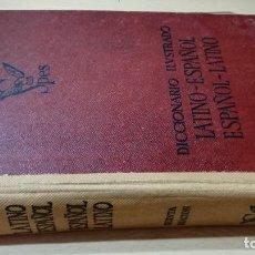 Diccionarios de segunda mano: DICCIONARIO ILUSTRADO LATINO ESPAÑOL / SPES 1960 / / O-401. Lote 243933390