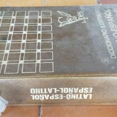 Diccionarios de segunda mano: DICCIONARIO ILUSTRADO LATINO ESPAÑOL / BIBLIOGRAF 1970 / APENDICE GRAMATICA / Z-!-003. Lote 243933625