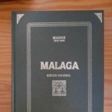Diccionarios de segunda mano: MÁLAGA, MADOZ. DICCIONARIO GEOGRÁFICO-ESTADÍSTICO-HISTÓRICO DE ANDALUCIA (1845-50). Lote 244536935