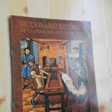 Diccionarios de segunda mano: DICCIONARIO DE LA COMUNIDAD VALENCIANA-Nº 37 - IMPRENTA - IZQUIERDA REPUBLICANA. Lote 244758285