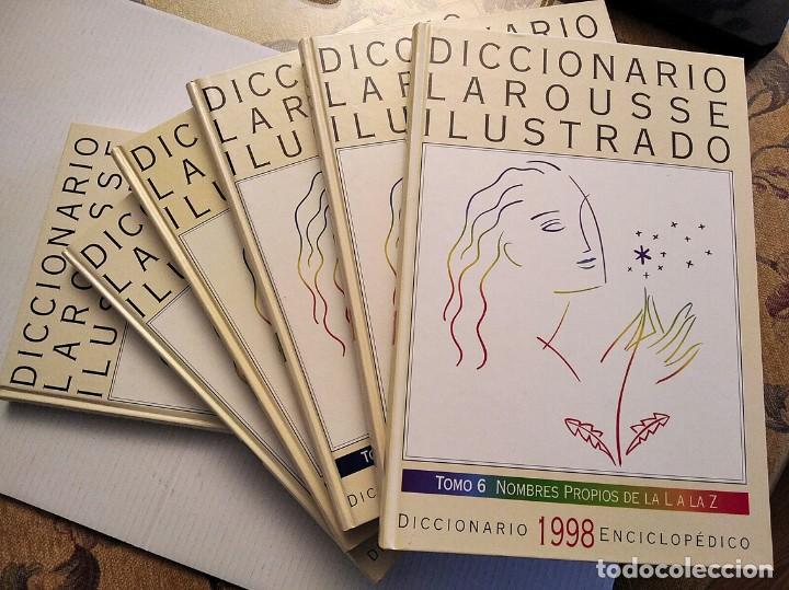 DICCIONARIO LAROUSSE ILUSTRADO. 1998. 6 TOMOS. CONSERVADO COMO NUEVO (Libros de Segunda Mano - Diccionarios)