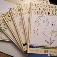 Diccionarios de segunda mano: DICCIONARIO LAROUSSE ILUSTRADO. 1998. 6 TOMOS. CONSERVADO COMO NUEVO. Lote 244830625