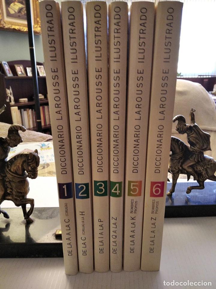Diccionarios de segunda mano: DICCIONARIO Larousse Ilustrado. 1998. 6 Tomos. Conservado como Nuevo - Foto 2 - 244830625