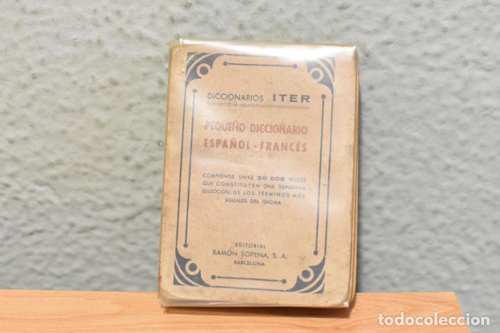 PEQUEÑO DICCIONARIO ITER ESPAÑOL-FRANCÉS DE 1943 (Libros de Segunda Mano - Diccionarios)