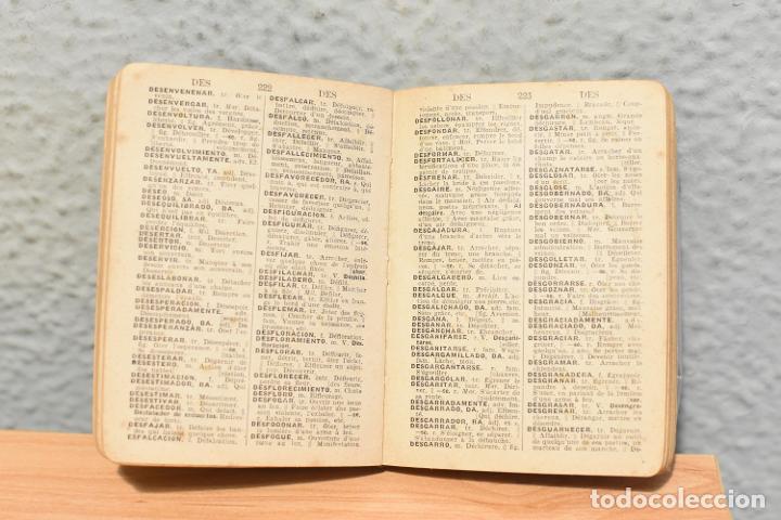 Diccionarios de segunda mano: PEQUEÑO DICCIONARIO ITER ESPAÑOL-FRANCÉS DE 1943 - Foto 3 - 244844740