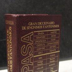 Diccionarios de segunda mano: GRAN DICCIONARIO DE SINÓNIMOS Y ANTÓNIMOS.- BANCO BILBAO VIZCAYA.. Lote 245195485
