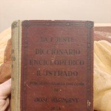 Diccionarios de segunda mano: LA FUENTE DICCIONARIO ENCICLOPEDICO ILUSTRADO. Lote 245286130