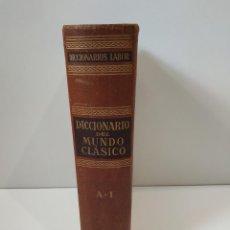 Diccionarios de segunda mano: DICCIONARIO DEL MUNDO CLÁSICO 1 A-I / IGNACIO ERRANDONEA / LABOR. Lote 245292485