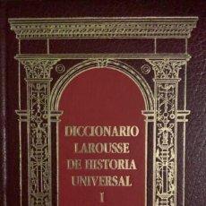 Diccionarios de segunda mano: DICCIONARIO LAROUSSE DE HISTORIA UNIVERSAL - 5 TOMOS COMPLETO. Lote 245309405