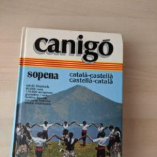 Diccionarios de segunda mano: DICCIONARIO SOPENA CÁNIGO (CATALÁN). Lote 245479365