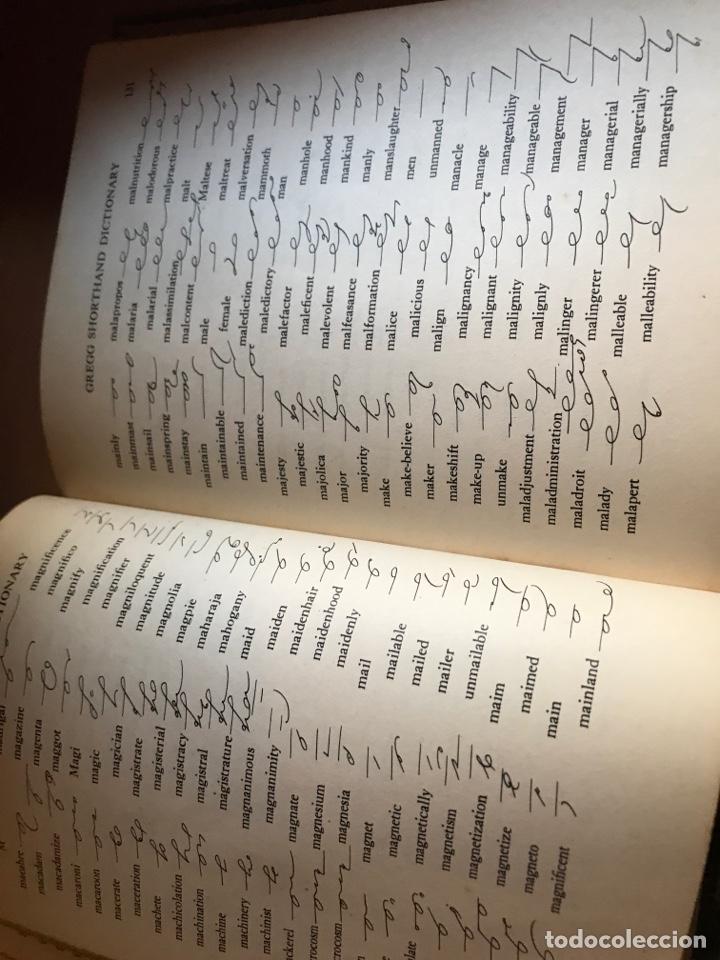 Diccionarios de segunda mano: Diccionario gregg shorthand 1947 - Foto 5 - 246111615