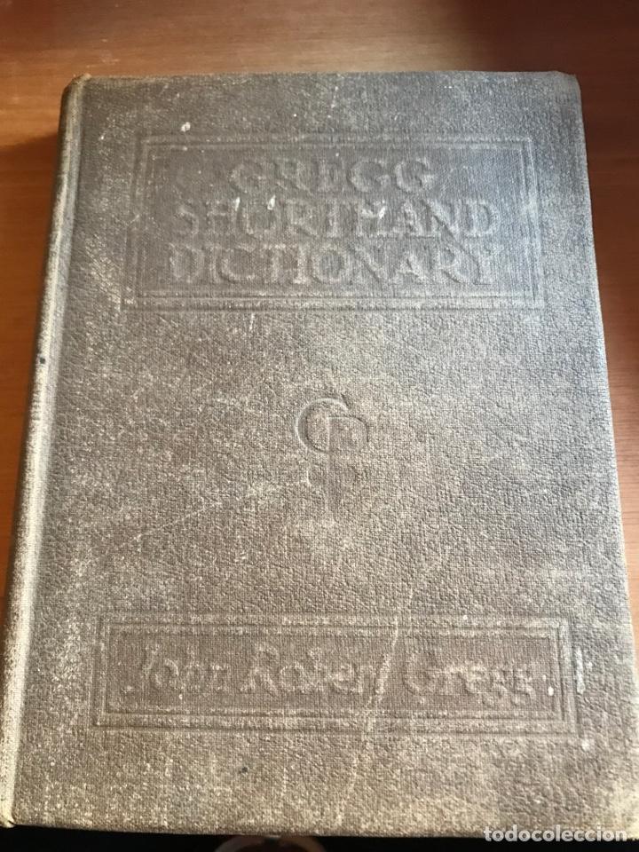 DICCIONARIO GREGG SHORTHAND 1947 (Libros de Segunda Mano - Diccionarios)