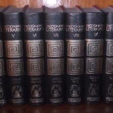 Diccionarios de segunda mano: DICCIONARIO LITERARIO DE OBRAS Y PERSONAJES DE TODOS LOS TIEMPOS Y DE TODOS LOS PAISES. 14 VOL. 1967. Lote 246263290